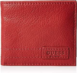 GUESS Men's Flat Billfold Wallet