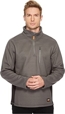Studwall 1/4 Zip Textured Fleece Top