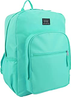 Eastsport Fashion Lifestyle Backpack with Oversized Main Compartment for School or Travel/Hiking, Turquoise