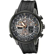 Men's Eco-Drive Navihawk Atomic Timekeeping Watch, JY8035-04E