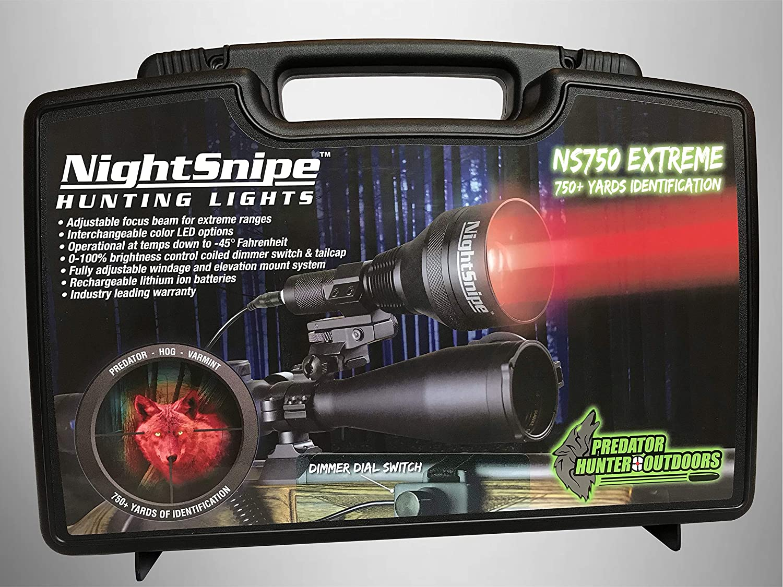 NightSnipe NS750 Extreme Dimmable Predator NEW売り切れる前に☆ Coyote Hog Hunting 爆買い送料無料