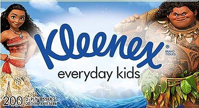 KLEENEX Facial Everyday Kleenex Everyday Kids Facial Tissues, 200 sheets, 0.290 kilograms