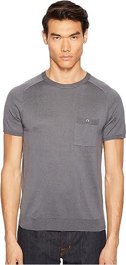 Cotton Silk T-Shirt Sweater