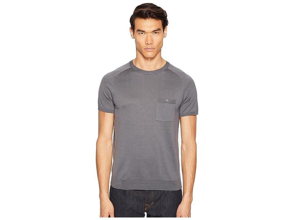 Todd Snyder Cotton Silk T-Shirt Sweater (Grey) Men
