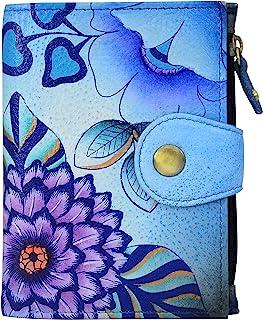 Genuine Leather Ladies Wallet | Hand-Painted Original Artwork
