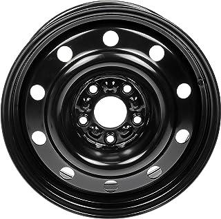 """Dorman 939-243 Steel Wheel for Select Chrysler/Dodge Models (17x6.5""""/5x127mm), Black"""