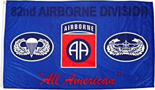 US Flag Store 82nd Airborne Blue Flag 3ft x 5ft Superknit Polyester