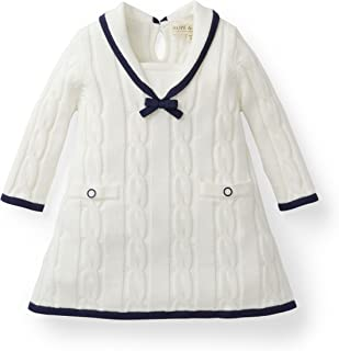 newborn baby girl sailor dress