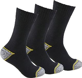 TRABAJO – CRONOS ONE, Calcetines de TRABAJO (3 pares) ideales para botas de trabajo o calzado de seguridad. Con goma ANTI-PRESION y talón y puntera reforzados. También son idóneos para deportes de invierno.
