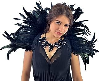 Zucker Feather (TM) - Feather Collar Black