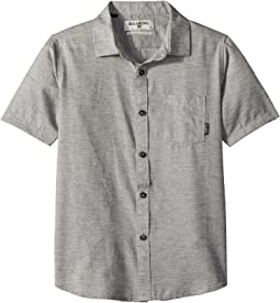 All Day Helix Short Sleeve Woven Top (Big Kids)