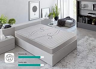 ROYAL SLEEP Colchón viscoelástico 135x190 de máxima Calidad, Confort y firmeza Alta, Altura 14cm
