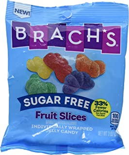 Brach's Sugar Free Fruit Slices Jelly Candy, 3.00 oz