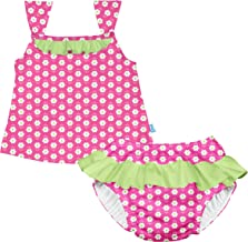i play. Baby Two-piece Tankini with Reusable Swimsuit Diaper