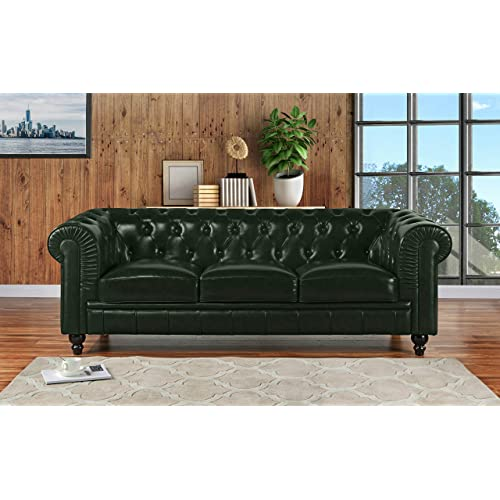 Chesterfield Sofa Leather: Amazon.com