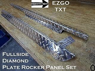 Ezgo MEDALIST/ TXT Golf Cart Diamond Plate Full Side Panels