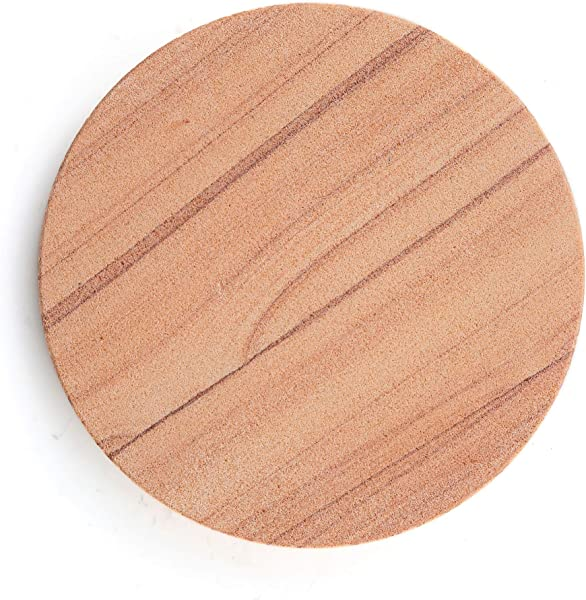 Thirstystone Brand Cinnabar Multicolor All Natural Sandstone Durable Stone With Varying Patterns Every Coaster Is An Original 4 Inch Round