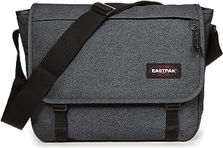 EASTPAK Delegate Umhängetasche, 39 cm, 20 L, Grau Black Denim