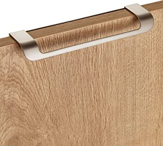 Cajones y Puertas Junker Design Tirador de Muebles LYS Distancia Agujeros 160 mm Acabado en Acero Fino Mate para Armarios