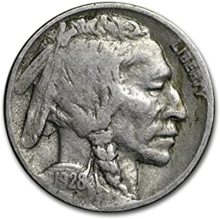 1928 e buffalo nickel