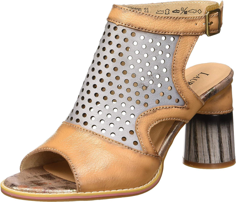 送料無料お手入れ要らず Laura Vita Women's 選択 Wedge Toe Heels Open Sandals