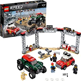 LEGO Speed Champions 1967 Mini Cooper S Rally and 2018 MINI John Cooper Works Buggy 75894 Building Kit, 2019 (481 Pieces)