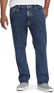 Amazon Essentials Men's Big & Tall Straight Stretch Jean Fit by DXL