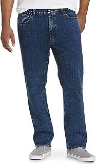 Men's Big & Tall Straight-fit Stretch Jean fit by DXL