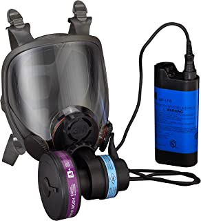 3M Powerflow Face-Mounted Powered Air Purifying Respirator (PAPR) 6900PF, Large, 1 EA/Case