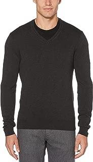 Perry Ellis Men's Classic Solid V-Neck Sweater