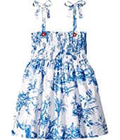 Oscar de la Renta Childrenswear - Cotton Day Dress (Little Kids/Big Kids)