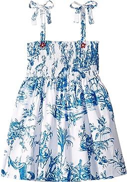 Cotton Day Dress (Little Kids/Big Kids)