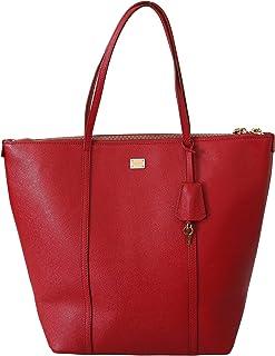 Dolce & Gabbana Handtasche / Einkaufstasche, Leder, Rot