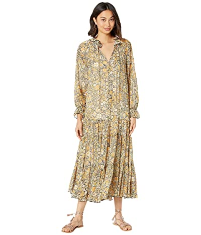 Free People Feeling Groovy Maxi (Black) Women