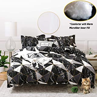 black and gold comforter
