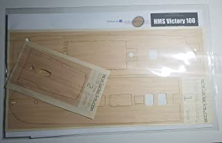 Premium Wood Deck for 1/100 HMS Victory (fits Heller/Airfix Kits)
