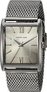 نمایشگر آنالوگ GB8052GU مردانه Geoffrey Beene ساعت مچی خاکستری کوارتز ژاپنی
