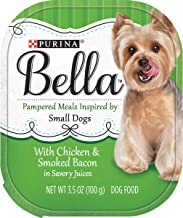Purina Bella Single Serve Adult Wet Dog Food or Topper/Mixer in Savory Juices