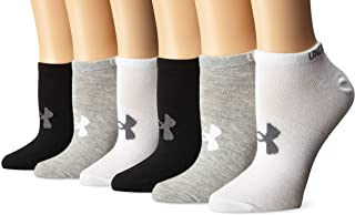 Women's Essential No Show Socks, 6-Pair