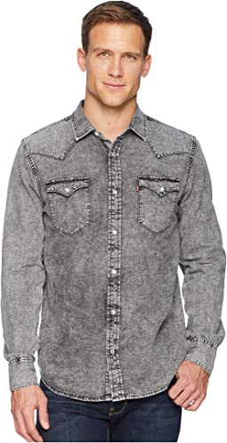 182309628d Hunk Grey Light Grey. 16. Levi s®. Standard Barstow Western Shirt
