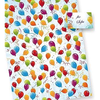 Geschenkpapier Ganzjahr Kinder Erwachsene Schöne Motive