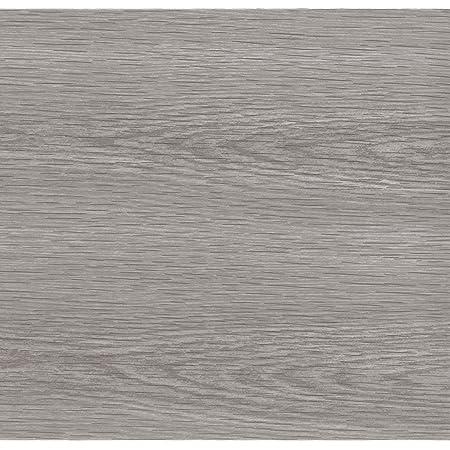 Venilia 53159 Film auto-adhésif, aspect / design en bois de pin gris, décoratif, pour meubles, 45cm x 3m, épaisseur de 0,095mm