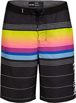 Gradient Striped Boardshorts (Big Kids)