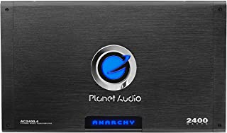Planet Audio AC2400.4 4 Channel Car Amplifier - 2400 Watts, Full Range, Class A/B, 2-4 Ohm Stable, Mosfet Power Supply, Br... photo