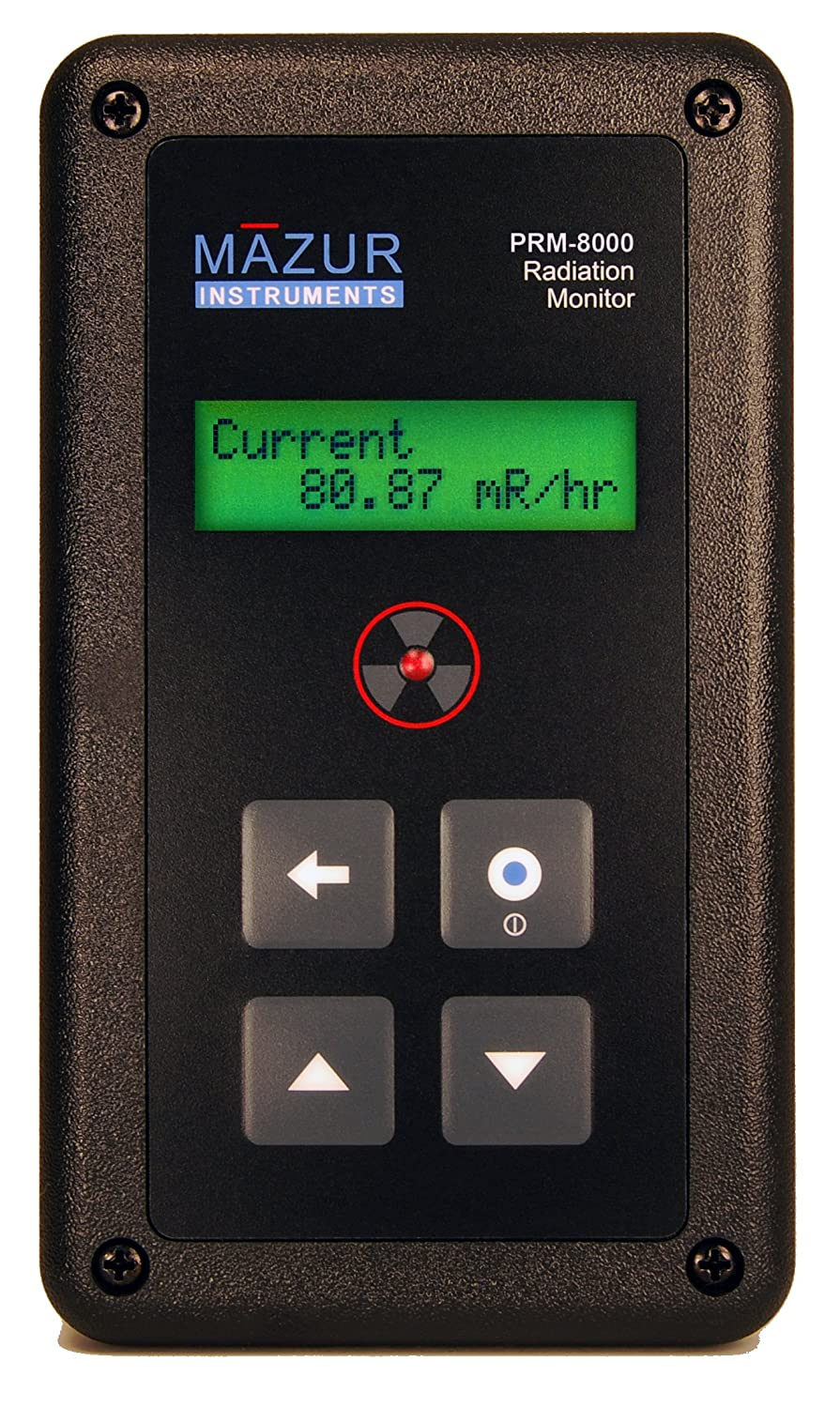 Mazur Instruments PRM-8000 mart Handheld Geiger Nuclear R Deluxe and Counter