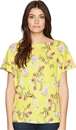 LAUREN Ralph Lauren Floral Linen-Blend Top