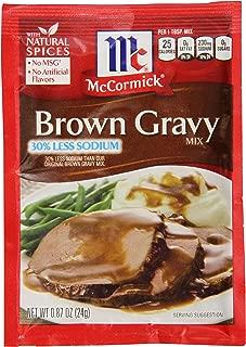 Best low sodium brown gravy recipe Reviews