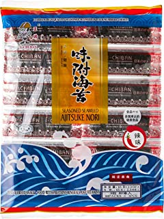 Ichiban Seasoned Seaweed, Spicy, 80 Count