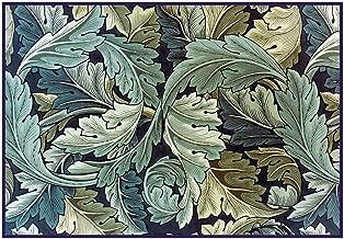 Orenco Originals William Morris Acanthus Vine Blue Green Design Counted Cross Stitch Pattern