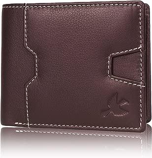 Hornbull Edward Brown Men's Genuine Leather RFID Blocking Wallet